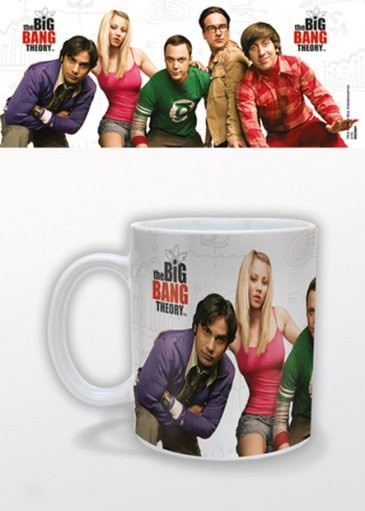 The Big Bang Theory (Teoria wielkiego podrywu) - Cast Kubek