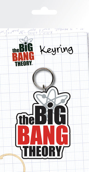 Agymenők - Logo kulcsatartó