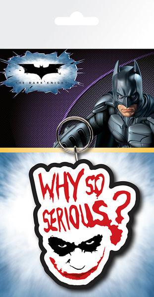 Batman: A sötét lovag - Joker Serious kulcsatartó