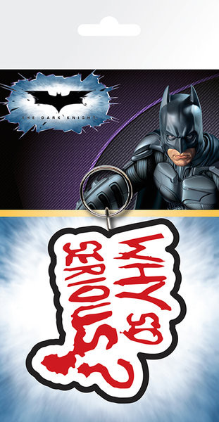 Batman - The Dark Knight Joker Why So Serious kulcsatartó