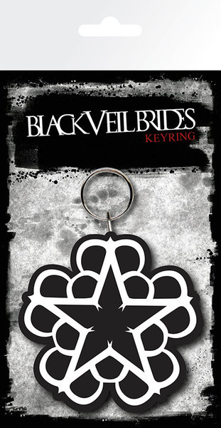 Black Veil Brides - Star kulcsatartó