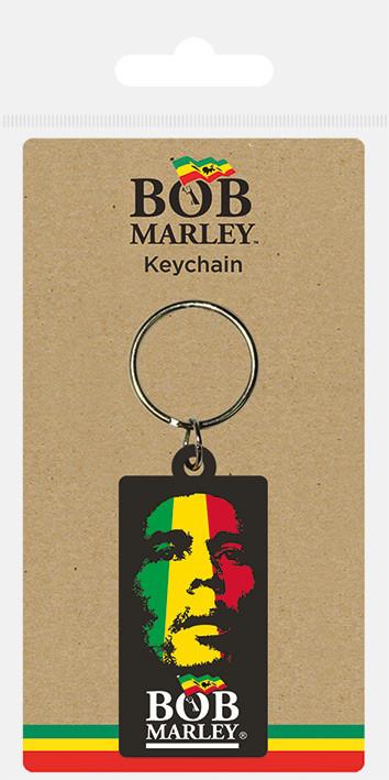 Bob Marley - Face kulcsatartó