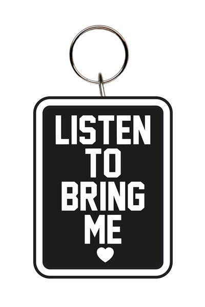 Bring Me The Horizon - Listen To kulcsatartó