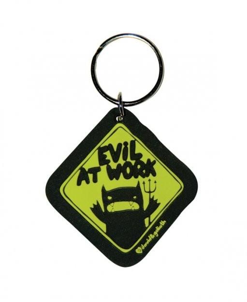 D&G MONSTER MASH - evil at work kulcsatartó