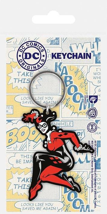 DC Originals - Harley Quinn kulcsatartó