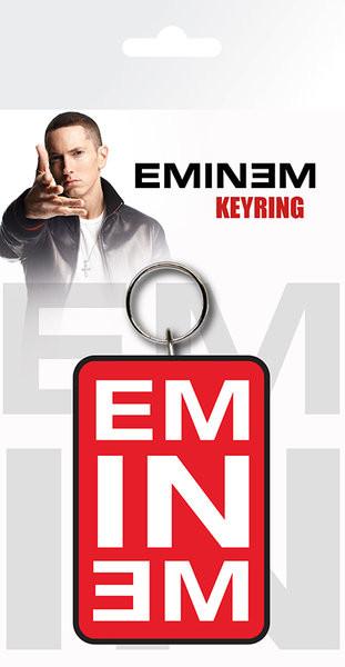 Eminem - Logo kulcsatartó