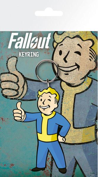 Fallout 4 - Vault Boy Thumbs Up kulcsatartó