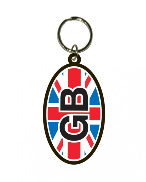 GB - Flag Union Jack kulcsatartó
