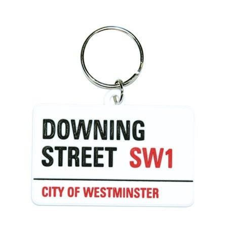 LONDON - downing street kulcsatartó