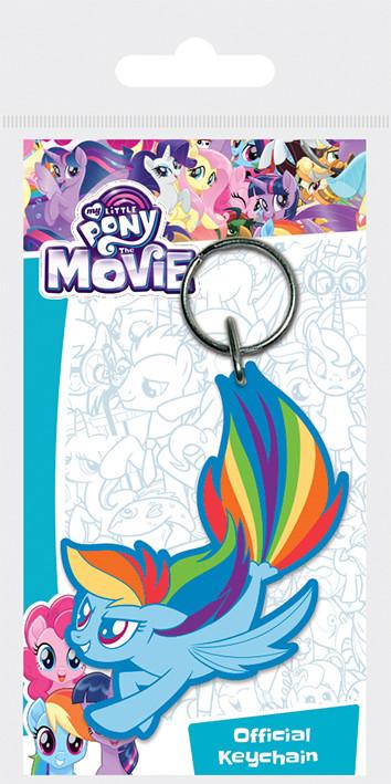 My Little Pony Movie - Rainbow Dash Sea Pony kulcsatartó