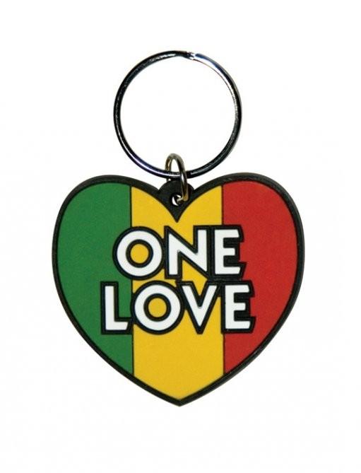 ONE LOVE kulcsatartó