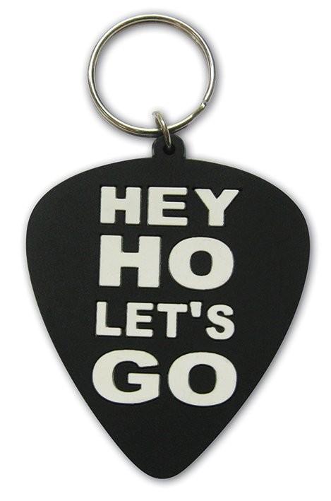 Ramones - Hey Ho, Let's Go (Plectrum) kulcsatartó