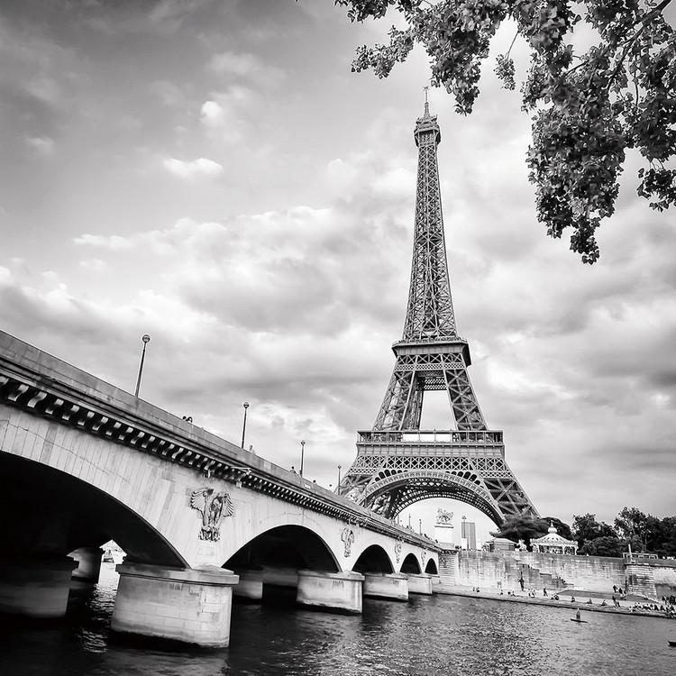 Kunst op glas Paris - Eiffel Tower