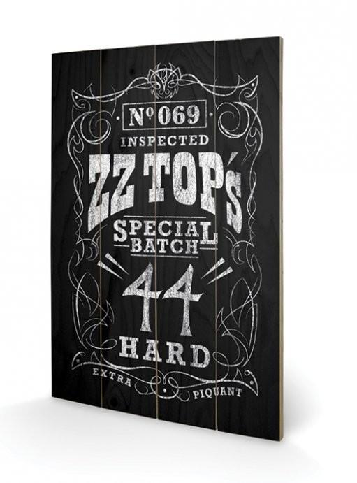 Bilde - Kunst på tre  ZZ Top - Special Batch