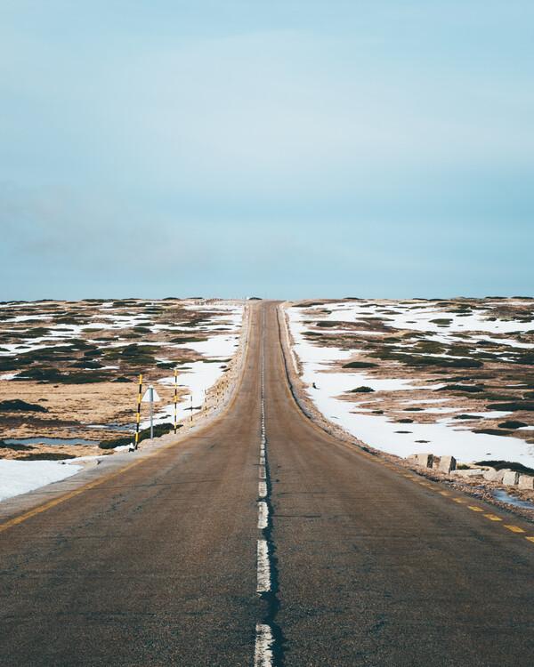 Kunstfotografier Endless Road