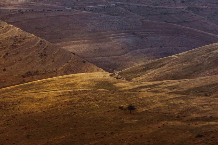 Kunstfotografier Last sun rays over the valley 2
