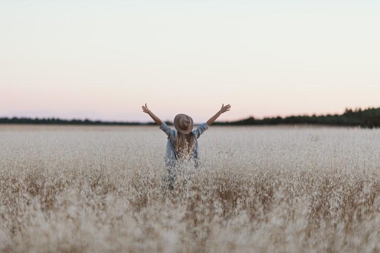 Kunstfotografier Sunset yoga