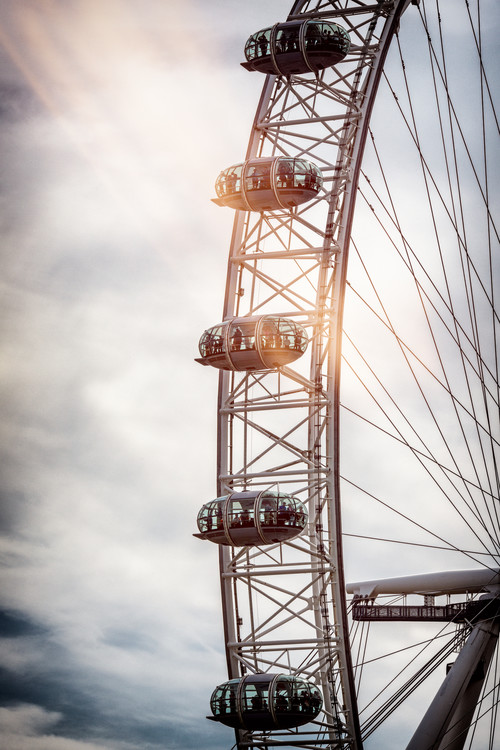 Kunstfotografier The London Eye