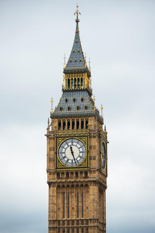 Kunstfotografier Big Ben Clock Tower