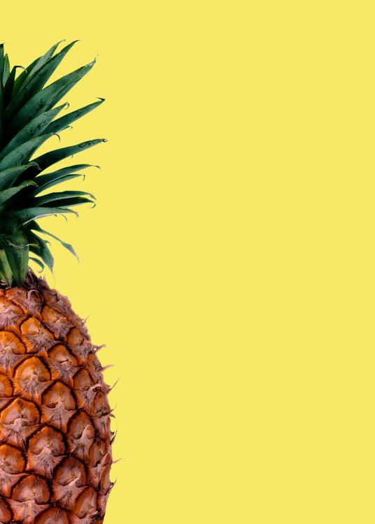 Kunstfotografier Pinapple yellow