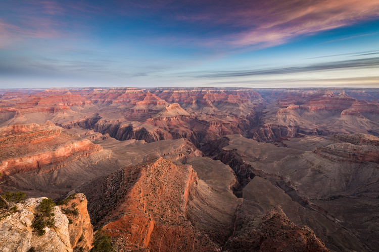Kunstfotografier South rim sunrise