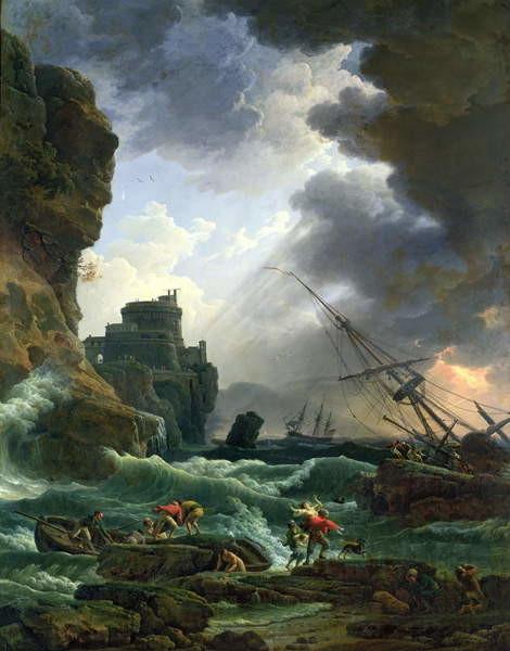 The Storm, 1777 Kunsttrykk
