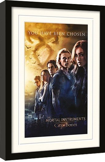 CHRONIKEN DER UNTERWELT – CITY OF BONES – chosen gerahmte Poster