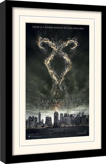 CHRONIKEN DER UNTERWELT – CITY OF BONES – rune  gerahmte Poster