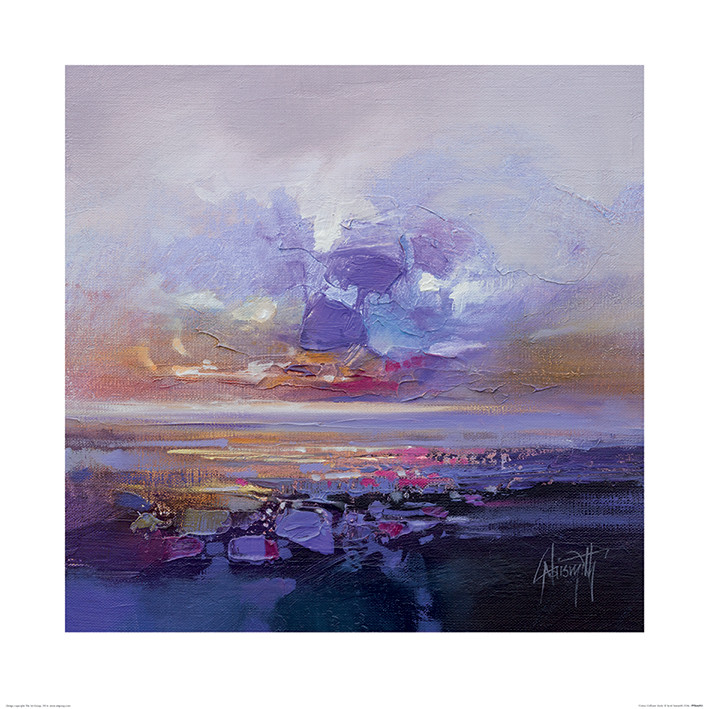 Scott Naismith - Colour Collision Study Kunsttrykk