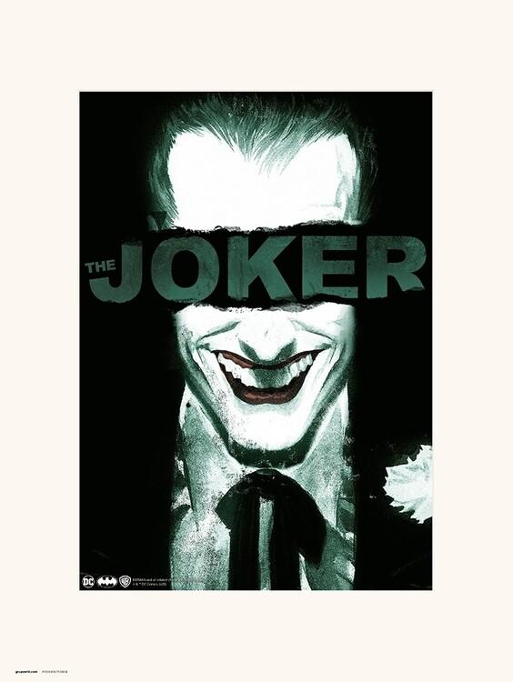The Joker - Smile Kunsttrykk