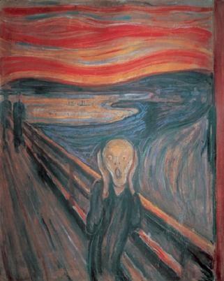 The Scream, 1893 Kunsttrykk