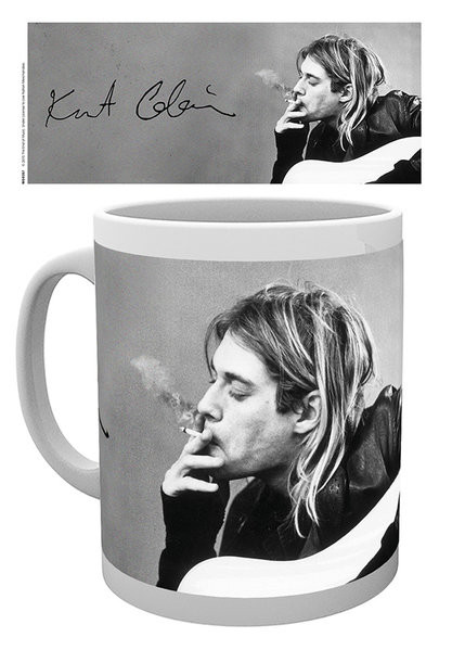 Hrnek Kurt Cobain - Smoking
