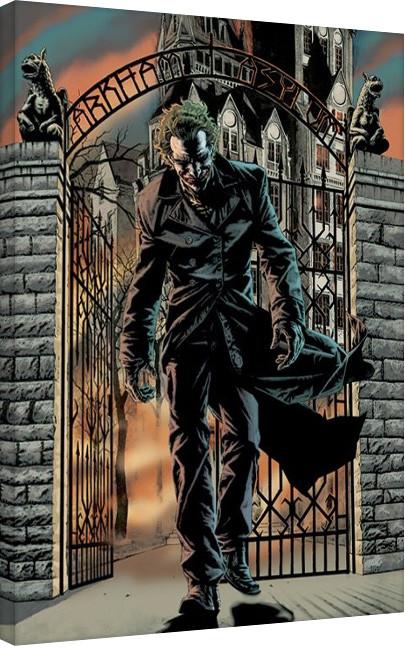 Batman - The Joker Released Billede på lærred
