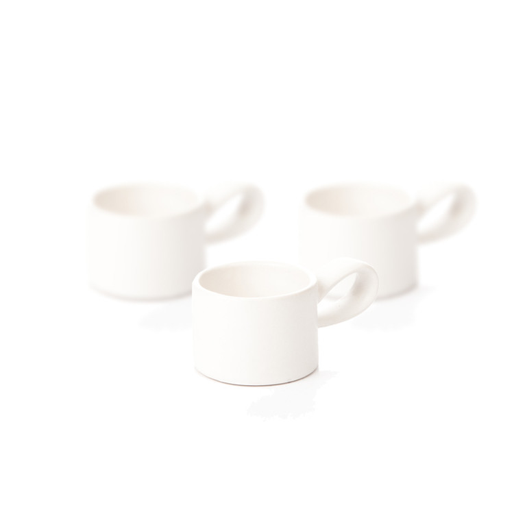 Candle Holder for Tealight Candles, 5 cm Matte White, set of 3 pcs Lakberendezés
