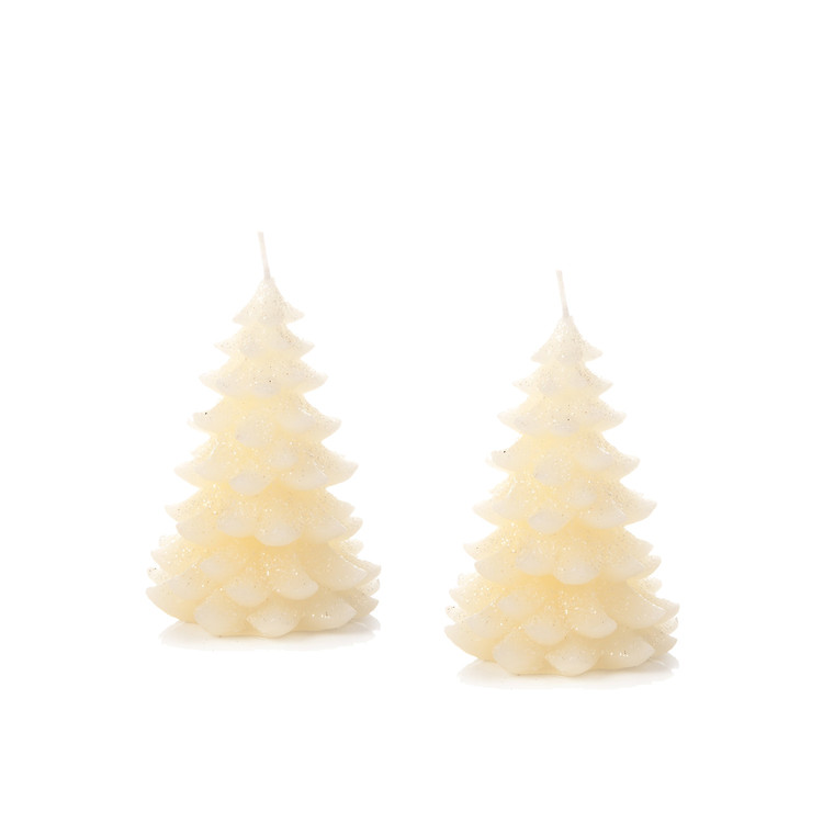 Candle Tree Huna, 11 cm, set of 2 pcs Lakberendezés