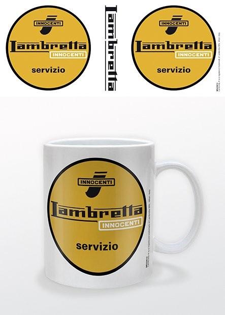 Csésze Lambretta - Servizio