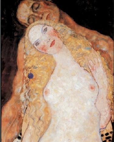 Reproducción de arte  Adam and Eve