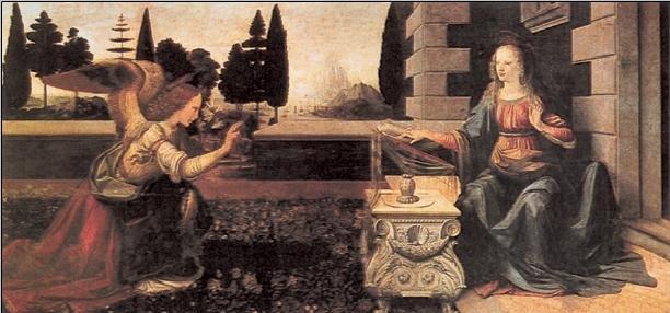 Lámina Annunciation