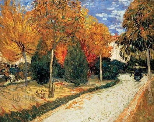 Reproducción de arte  Autumn Garden