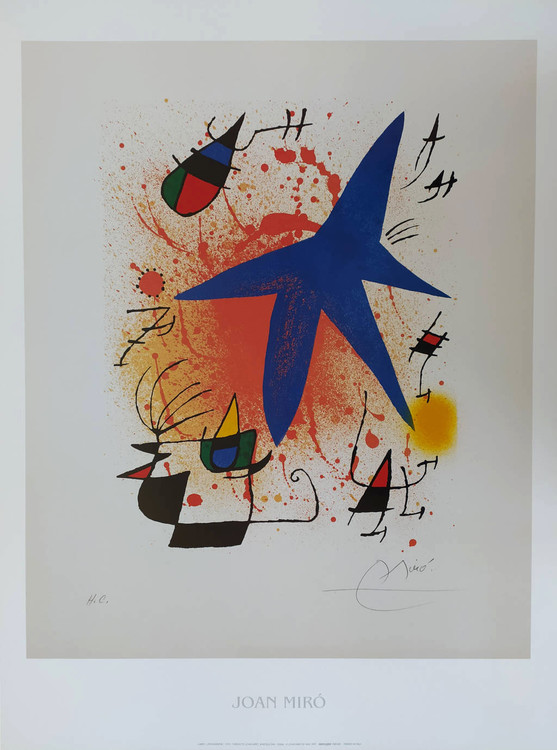 Reproducción de arte Blue Star, 1972