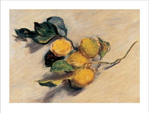 Reproducción de arte  Branch from a Lemon Tree