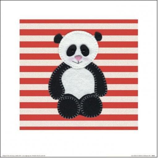 Reproducción de arte  Catherine Colebrook - Panda