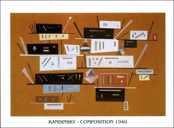 Reproducción de arte  Composition 1940
