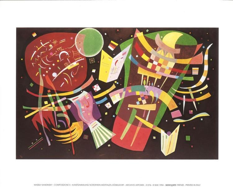 Reproducción de arte  Composition X