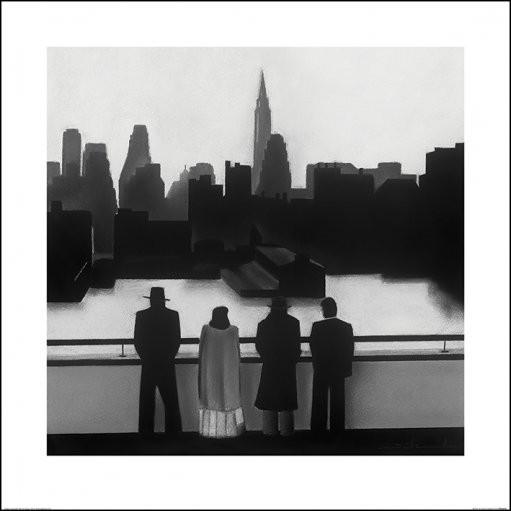 Reproducción de arte David Cowden - Skyline