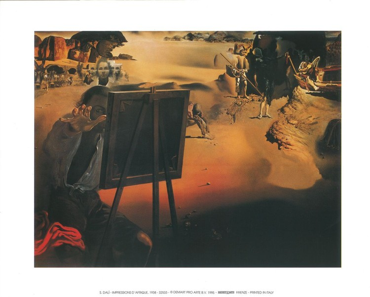 Reproducción de arte Impression of Africa, 1938