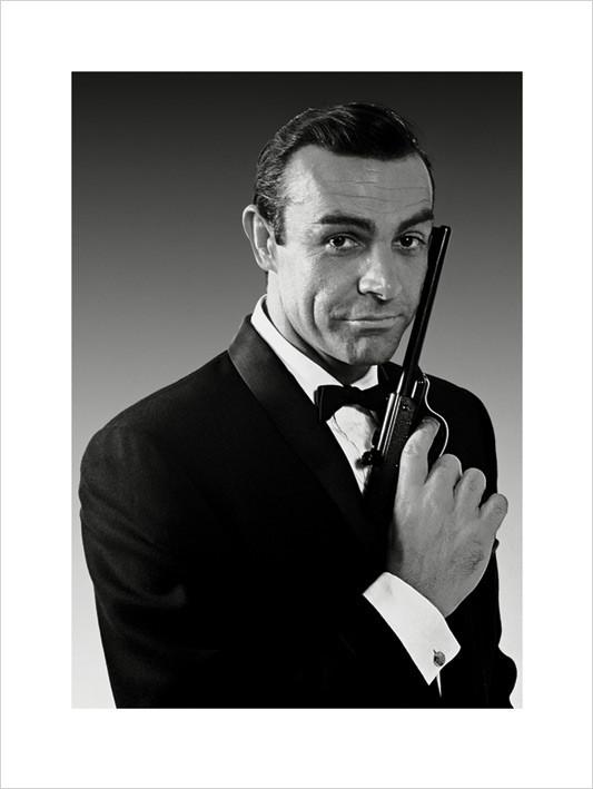 Reproducción de arte James Bond 007 - Connery