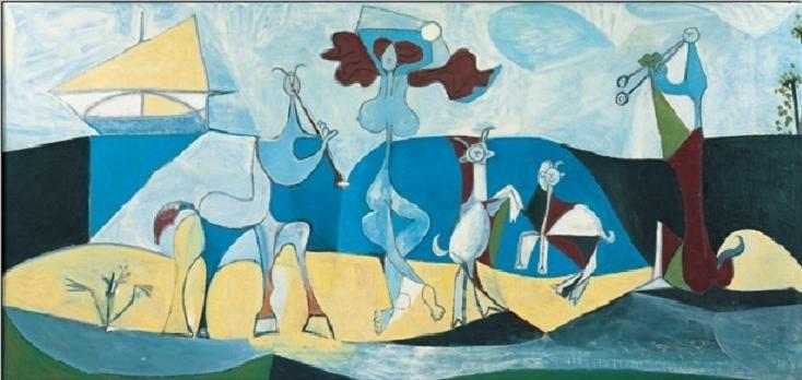 Reproducción de arte Joy of Life, 1946