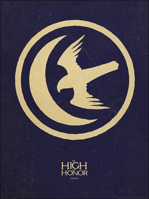 Reproducción de arte Juego de Tronos - Game of Thrones - Arryn