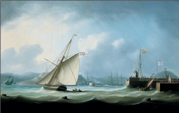Reproducción de arte  Leith Harbour